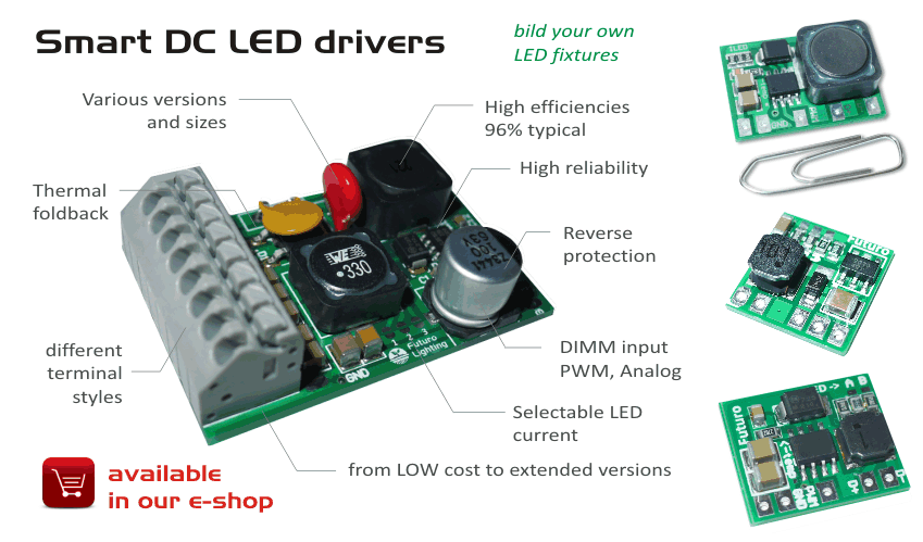Smart DC LED Drivers